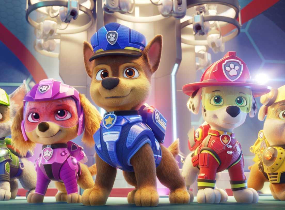 Psi Patrol na dużym ekranie